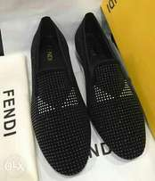 Fendi New Studded Loafers