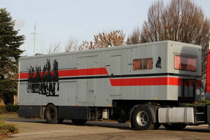 Groenewegen HORSE TRUCK LIVING!! - 1973
