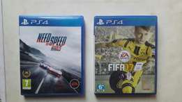 Fifa 17 & Need for Speed (Rivals): PS4 combo pack