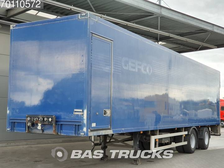 Tracon Stuuras Laadklep APK 12-2019 2 axles Liftas - 2003