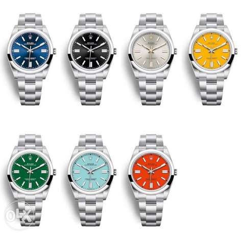 Rolex oyster perpetual available in 41mm & 36mm
