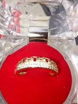 Romania gold plated engagement