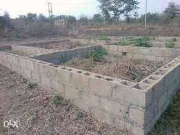 For Sale: Land With 4 Bedroom Foundation In Ibadan