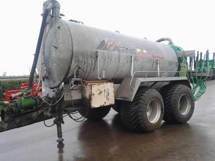 Agrimat CH 120 liquid manure spreader - 2000