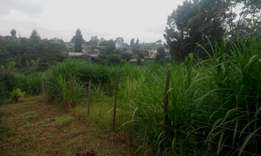 50x100 Plot for sale at Gikambura 20 meters from Tarmac!
