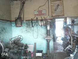 Engineering workshop for quick sale