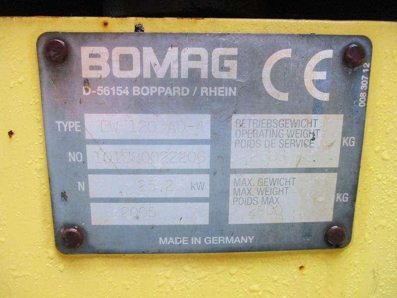 BOMAG Bw 120 - 2005 - image 12