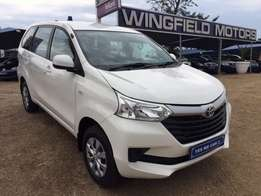 Toyota Avanza 1.5 SX with factory warranty