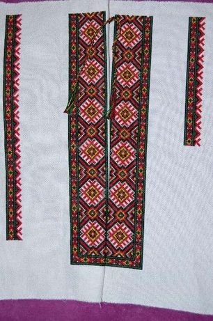 Заготовка до чоловічої сорочки (вишита) вишиванка вишивка вышиванка Львов -  изображение 2 4c55f89c32c33