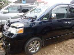 Chauffeured Toyota voxy for hire