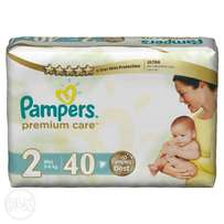Pampers Premium Care Size 2 -40 count (3-6kg)