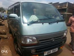 NEW TOYOTA hiance van with number plate at only 42m