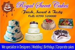 Royal sweet cakes