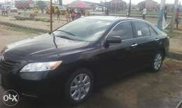 A Tokunbo Toyota camry 2008 model (accident free)