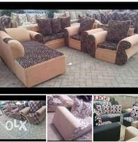 Ready sofas of different colours available