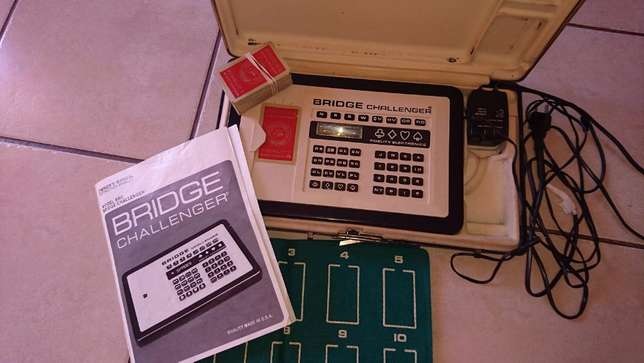 Collector item !! Electronic Bridge Challenger !! Works perfect !! Klerksdorp - image 1