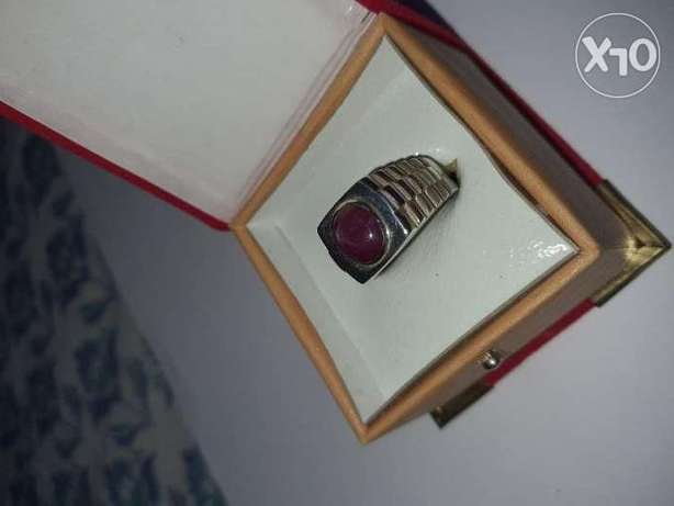Genuine Star Ruby in 925 Siver Setting