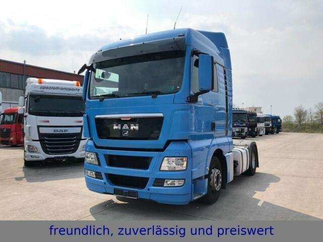MAN *tgx 18.400*euro 5*retarder*standheizung - 2011