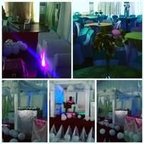 Promo package for 200 guest decor talk to classic events