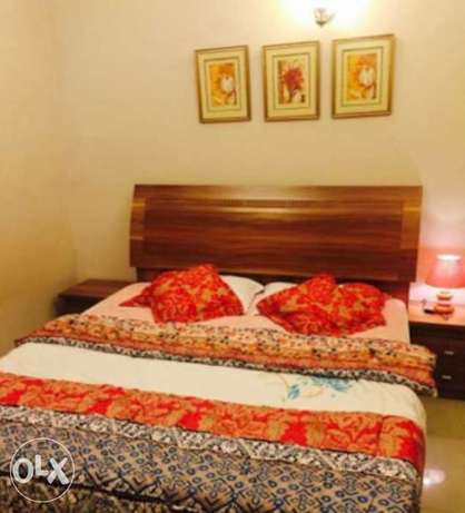 fully furnished flat in alzibah , شقه مؤثثه بالعذيبه