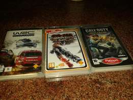3 psp games in good condition