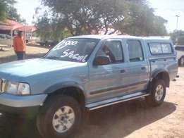Ford Ranger 2.5D Double-cab + Canopy