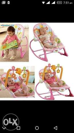 Fisher price rocker with music and vibration Parklands - image 2
