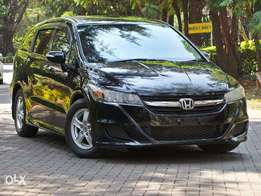 Black Honda Stream