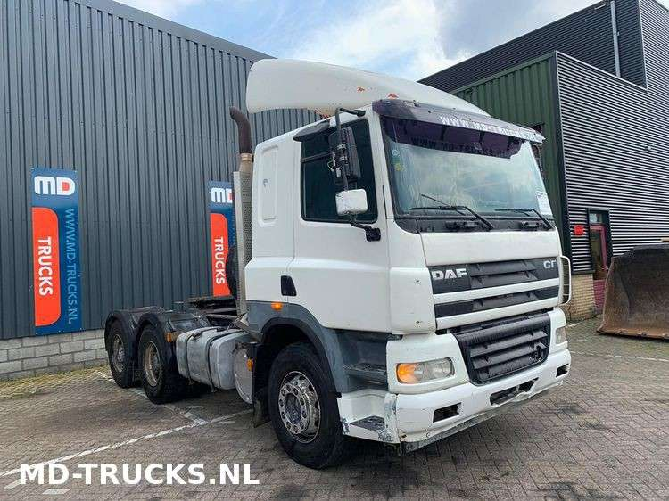 DAF CF 85 430 manual 6x4 full steel - 2007 - image 2