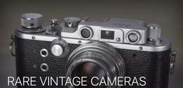 Do you own a Vintage camera and want to sell it or have it evaluated?