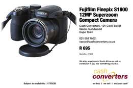 Fujifilm Finepix S1800 12MP Superzoom Compact Camera
