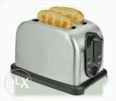 Brand New stainless steel toaster at Don's Household