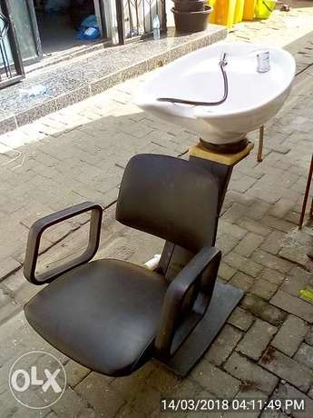Hair Washing Chair with Wash Basin Lekki - image 5