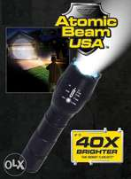 Atomic Beam Tactical Flashlight 40X Brighter