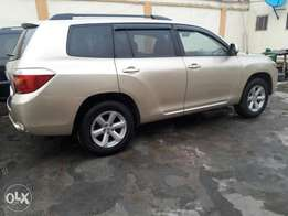 Registered 2008 Toyota Highlander
