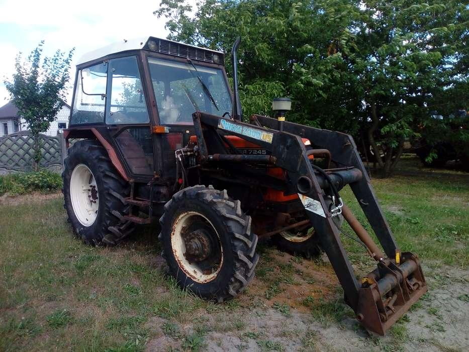Zetor 7245 + TUR 1992r