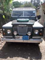 Land Rover short chase