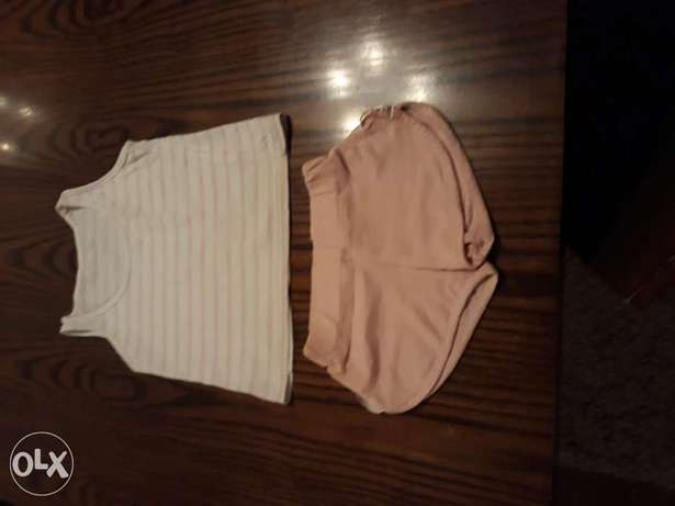 Girl's short and T-shirt size 2-3 years