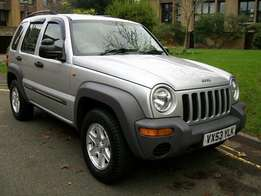 2003 Jeep Cherokee Spares available - Similar to picture