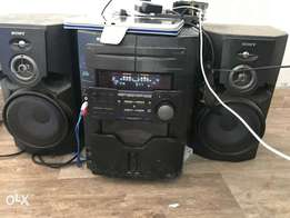 Sony Vacs radio,cd player