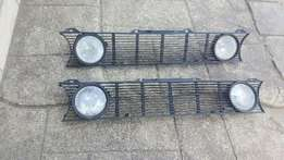 Golf 1 double light 3 piece grill
