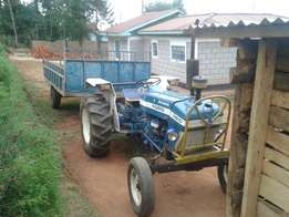 Ford 3910 tractor plus trailer