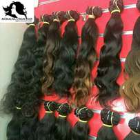 Brazilian and Peruvian hair, Lace wig and closure. Free Delivery