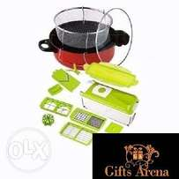 Multipurpose Dicer + Frying Pot