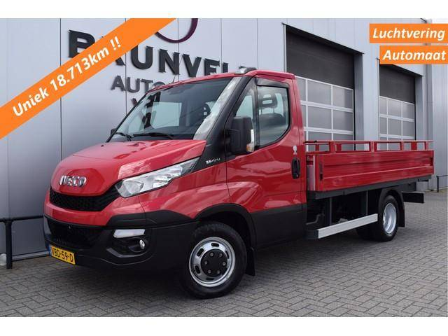 Iveco Daily 35C17 3.0 170pk, Luchtvering, Automaat, Open - 2015