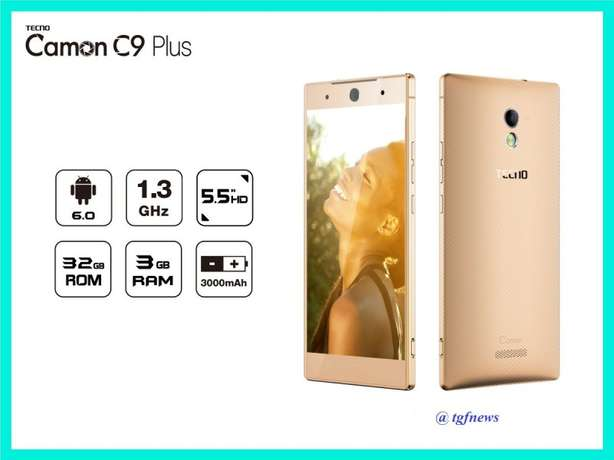 New Tecno Camon C9 Plus 32GB ROM Nairobi CBD - image 1