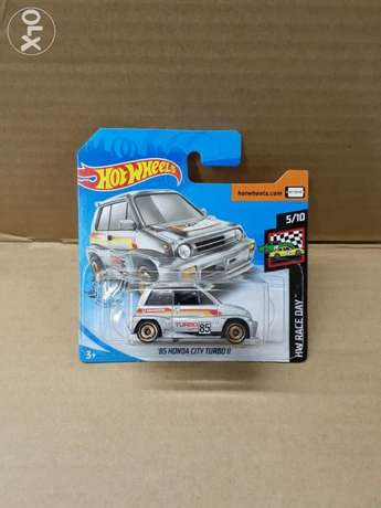 Honda City Turbo diecast car model 1:64.