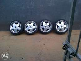 """17"""" borbet rims and tyres"""