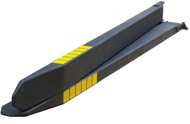 Nietypowy Okaz Przedłużki wideł 1800x120x60 nakładki na widły do widlaka Świdnica PV81