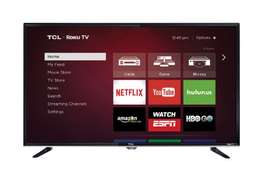 new brand 43 inch tcl smart tv youtube,facebook,google in cbd shop cal